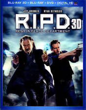 R.I.P.D. (Blu-ray/DVD, 2013, 3-Disc Set, Includes Digital Copy; UltraViolet;...