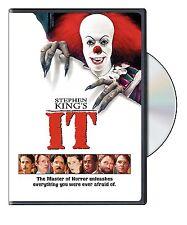 Stephen King's It [DVD Movie, Region 1, Horror, Clowns John Ritter Thriller] NEW