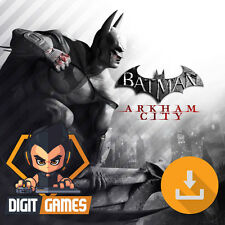Batman Arkham City Game of the Year - Steam / PC Game - New / GOTY Edition
