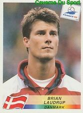 225 BRIAN LAUDRUP DENMARK DANONE BACK STICKER WORLD CUP FRANCE 98 PANINI