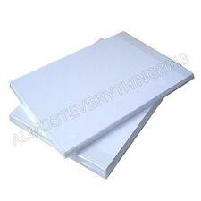 Premium SUBLIMAZIONE CARTA 100 FOGLI 130gsm per tazza TERMICO maglietta stampa trasferimento