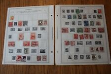 A46 Lot of Australia Stamps on 11 Minkus binder Pages
