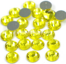 STRASS MC stone collection 1440pz SS20 5mm Citrine giallo hotfix termoadesivi
