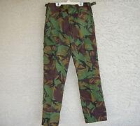 New Zealand army issue kiwi camo DPM surplus pants Mens 28 to 30 inch waist reg