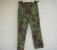 New Zealand army issue kiwi camo DPM surplus pants Mens 26 to 28 inch waist long
