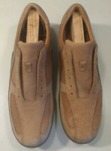 New Cole Haan Mens Brown Leather Walking Comfort Sneakers Size 11 M Oxford
