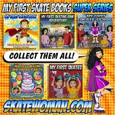 All New 5 Comic Book Super Series Set, My First Skating Stories by Skate Woman