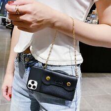 Fashion Handbag Chain Women Girl Wallet Purse Case Cover Skin For Various Phone