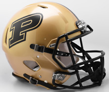 PURDUE BOILERMAKERS NCAA Riddell SPEED Full Size Authentic Football Helmet