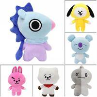 20CM KPOP BTS Bangtan Boys Soft Plush Toy CHIMMY COOKY TATA Doll Kids Gift UK