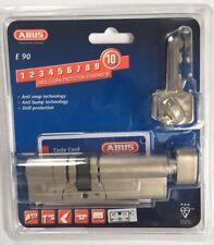 ABUS KE90N Z40K60 C E90 Thumbturn Cylinder NICKEL Knauf Schließ- Profil-Zylinder