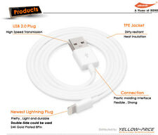 6.6ft Classic For iPod 5G iPhone 5 6s MFi Lightning USB Data Sync Charging Cable