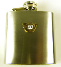 KOYLI Kings Own Yorkshire Light Infantry Classic MOD Licensed Badged Hip Flask