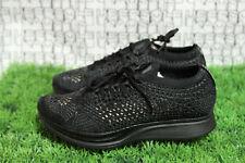 Nike Flyknit Triple Black Racer 526628 009 vapormax 1 90 multi MEN 6,WOMEN 7.5