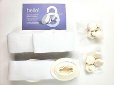 Sheetlock Bed Sheet Fastener Set Premium Holders Grippers Hidden Suspenders L