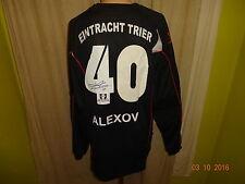Eintracht Trier uhlsport Matchworn Torwart Trikot 2008/09 + Nr.40 Alexov Gr.XXL