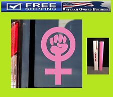 FEMINISM SYMBOL SIGN WOMEN'S RIGHTS EQUALITY DECAL STICKER VINYL Feminist