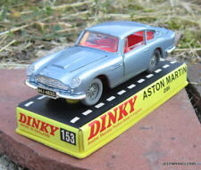 DINKY TOYS MECCANO GB / ASTON MARTIN DB6  REF 153  ~ VINTAGE