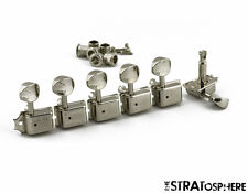 NEW Kluson Traditional NICKEL 6InLine TUNERS Double for Fender Strat SD9105MN DR