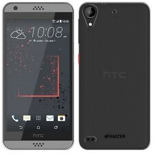 AMZER Exclusive Pudding Matte TPU Skin Case Cover For HTC Desire 530 630 - Clear