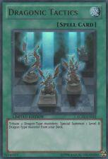 3x (M/NM) Dragonic Tactics - LC02-EN012 - Ultra Rare - Limited Edition  YuGiOh