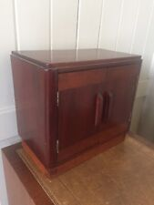 Small Vintage Rustic Two Door Hand Made Table Top Cupboard Cabinet