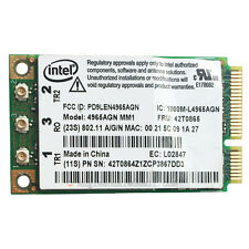 Intel 4965 AGN WIFI Wireless-N Card For Lenovo IBM Thinkpad T61 X61 Z61 X61 R61