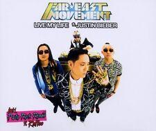 Far East Movement Live my life (2 versions, feat. Justin Bieber) [Maxi-CD]