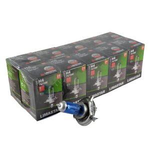 10 x H4 24V 100/90W Xenon White Halogen Headlight Bulbs 6000k HGV Truck