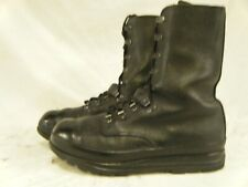 Swiss Army Bally KS90 Surplus Combat Para Paratrooper Leather Boots Size 8.5