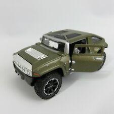 Maisto Hummer HX Concept green 1:39 diecast vehicle car two door