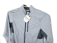 NEW Smartwool Mens PhD Ultra Light Sport Running Jacket Gray Size Large
