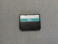 More details for vintage yamaha rp-5 32k ram pack cartridge 32kb hs/hx/psr