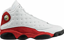 Brand New Mens Air Jordan 13 Retro 414571-122 White/Black Size 16