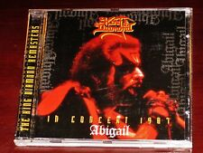 King Diamond: In Concert 1987 Abigail CD 1997 Gold Remaster Roadrunner RR 8784-2