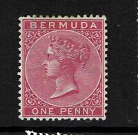 Bermuda SG# 24, Carmine Rose, Mint Hinged, Hinge Remnant - Lot 071217