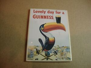 Guinness Toucan plastic fridge magnet