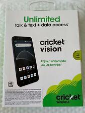 Cricket VISION Prepaid Smart Phone