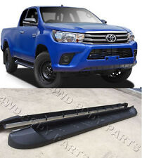 (#307) Toyota Hilux 2015 to 2017 Dual Cab Aluminium Side Steps Running Boards