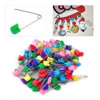 100x Large Nappy Diaper Pins Nappies Safety Pin Baby Diaper Change Fasteners New
