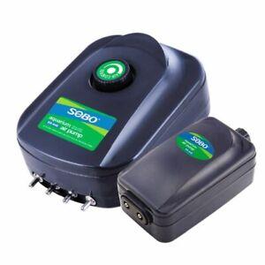 Quiet 220v 8W 12W Pump Adjustable Silent Aquarium Fish Tank Oxygen Air Aerator