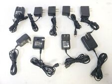 Lot of 9 Multiple Brands Mini Usb Ac Power Adapter Charger