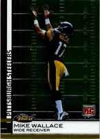 MIKE WALLACE 2009 Topps Finest RC #63 ($0.75 MAX SHIP)