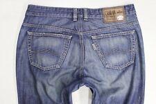"JOKER ""contrassegno"" Regolare Gamba Dritta Blu Jeans W36 L34"