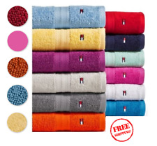Tommy Hilfiger Towel Collection 100% Cotton Towels