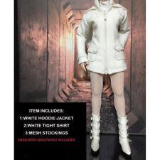 "1/6 Hembra abrigo con medias CC299 para 12"" figura de acción juguete de cuerpo accesorio"