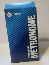 Wittner Malzel Wood Black Gloss Metronome in Box