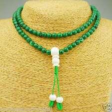 Malachite Mala Bracelet Arm Jewellery Rosario Nepal Bangles Jewelry 50H