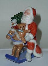 Rara figura Royal Copenhagen 2005 edición limitada de Santa Claus