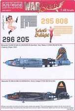 Kits World Decals 1/48 MARTIN B-26 MARAUDER Idiot's Delight & Hey Maker III